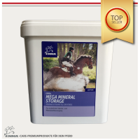 Mineralfutter Pferd ⭐ Ergänzungsfutter mit Biotin+Zink für die Leistung