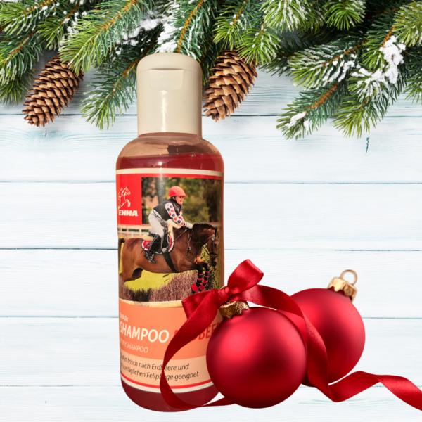 Pferde Shampoo mit Erdbeer Duft - Pferdepflege für Fell-, Mähne und Schweif  250 ml
