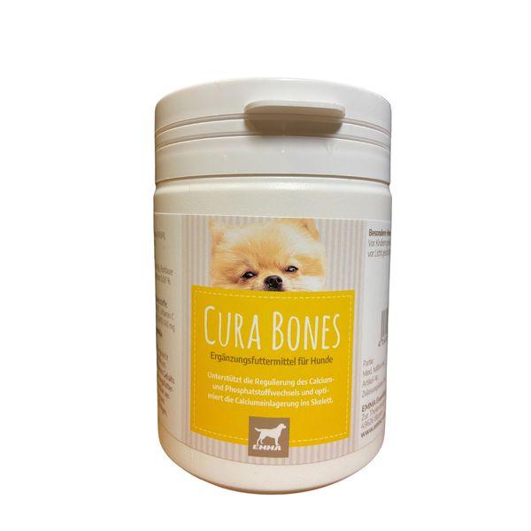 EMMA MSM & Glucosamin I Gelenkpulver mit Schwefel Methylsulfonylmethan I Ergänzungsfutter für Hunde I für Gelenke I Dose 150g