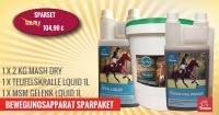 Ergänzungsfutter & Pferdefutter für die Gelenke vom Pferd-SPARSET