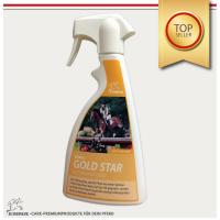 Glitzerspray für Pferde Gold, Mähnenspray & Pferdepflege für Fell- und Schweif 500 ml-Copy-Copy