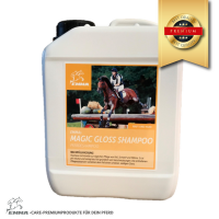 Pferde Shampoo, Pferdepflege für Fell-, Mähne und Schweif Premium- du sparst 30%  2,5 L