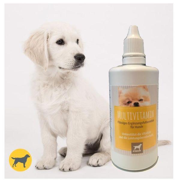 Vitamine für Hunde I VIT B Komplex B1 B2 B6 B12 I Multivitamin A D3 E Mineralien I Folsäure Eisen Zink