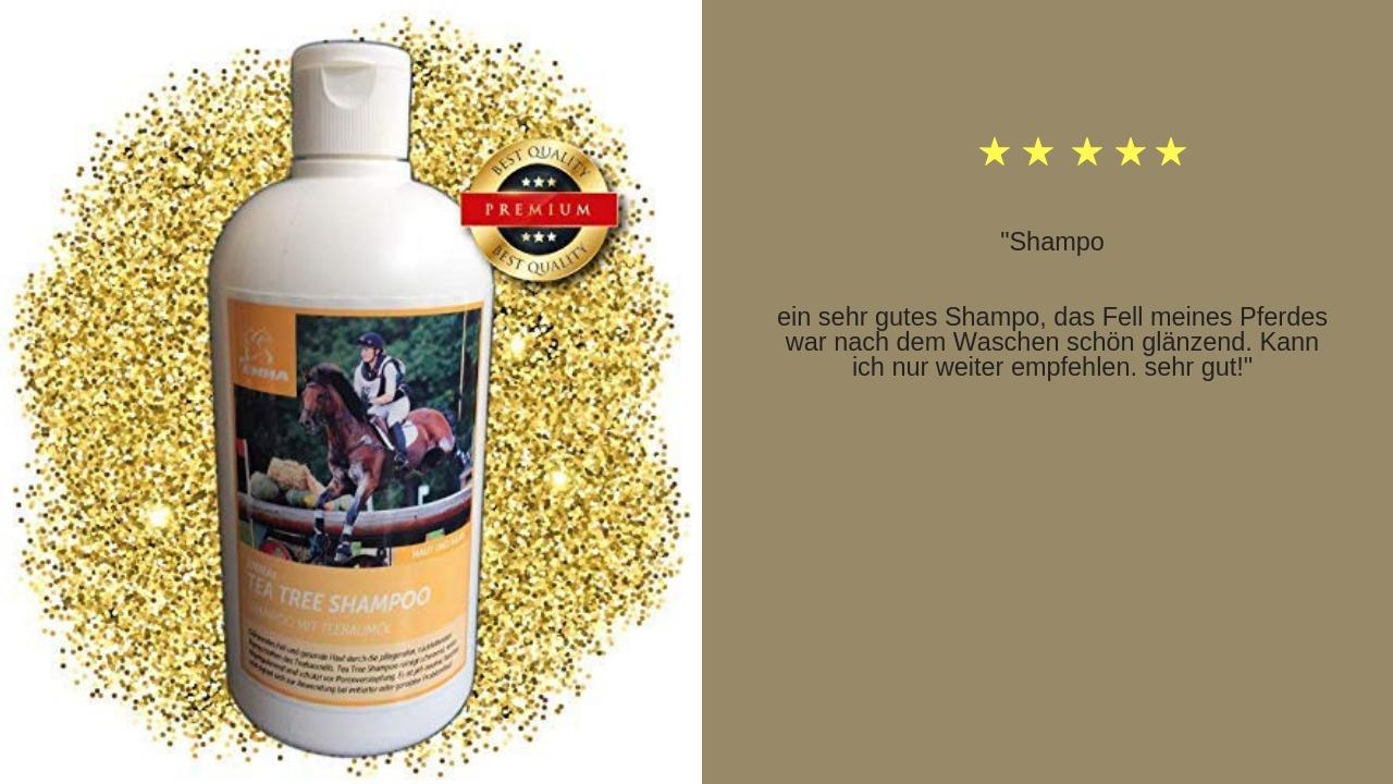 Teebaumöl Shampoo für pferde emma care