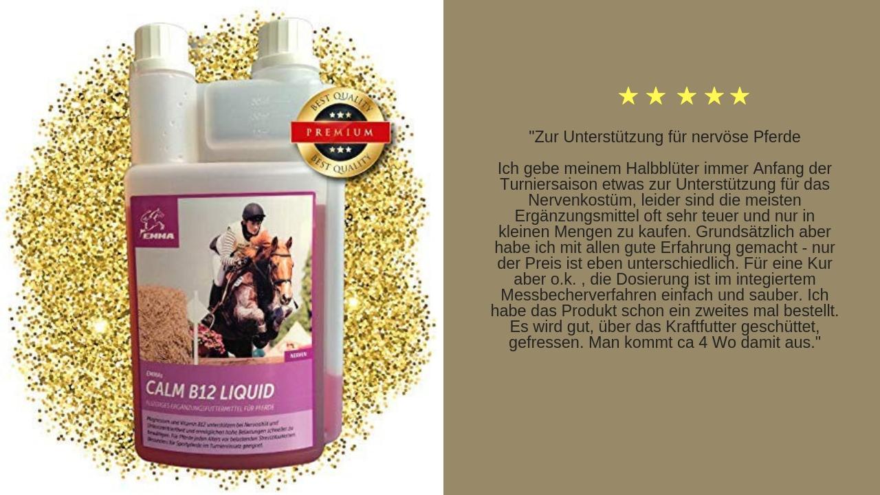 Magnesium Vitamin B Beruhigungsmittel für pferde