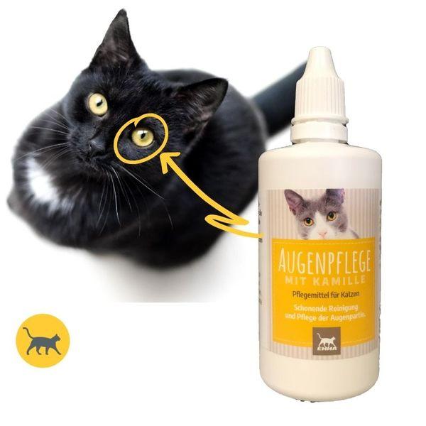 Augentropfen Katze I Augenpflege für Katzen I Augenreiniger I milde Augen-Reinigung I