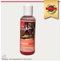 Pferdeshampoo mit Erdbeer Duft auch im Pferdepflegeset