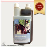 Hustensaft Pferd Liquid-Ergänzungsfutter Bronchial Sirup mit Käutern– 1 Liter